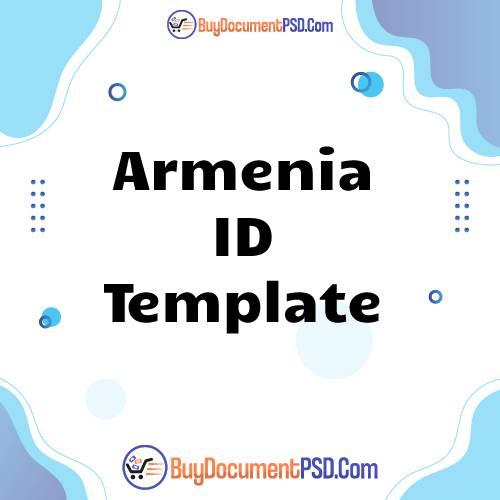 Buy Armenia ID Template
