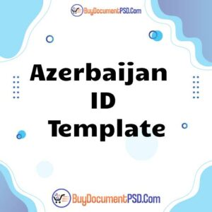 Buy Azerbaijan ID Template