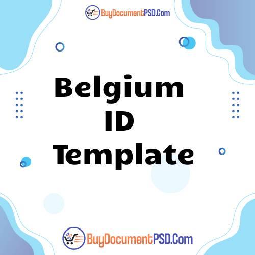 Buy Belgium ID Template