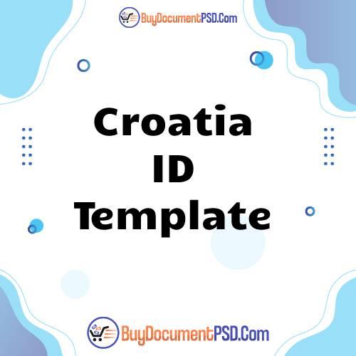 Buy Croatia ID Template