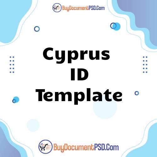 Buy Cyprus ID Template