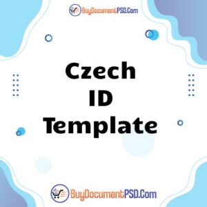 Buy Czech ID Template