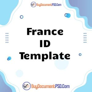 Buy France ID Template