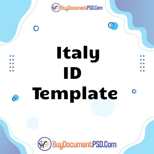 Buy Italy New ID Template