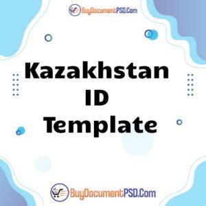Buy Kazakhstan ID Template