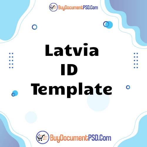 Buy Latvia ID Template