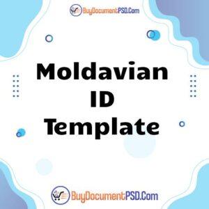 Buy Moldavian ID Template