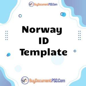 Buy Norway ID Template