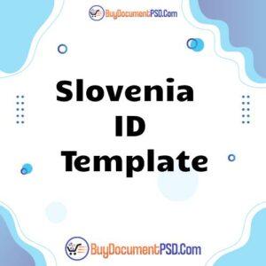 Buy Slovenia ID Template