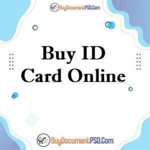 buy fake ID card online